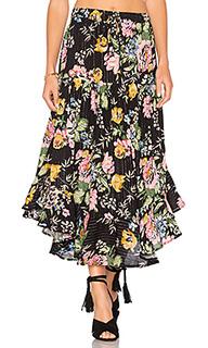 Delilah frilled midi skirt - AUGUSTE