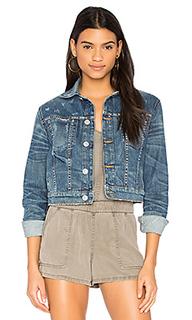 Укороченная джинсовая куртка garrison - Hudson Jeans