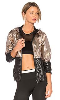 Metallic woven jacket - ALALA