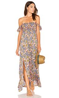 Макси платье с открытыми плечами hollie - Tiare Hawaii