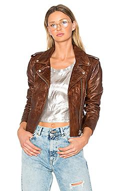 Мини куртка chiodo - Golden Goose