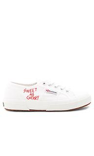 Кроссовки sweet as cherries - Superga