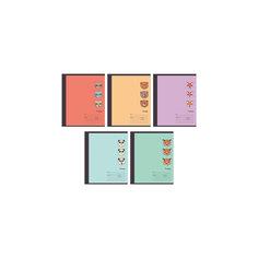 """Комплект тетрадей """"Забавные звери"""" (10 шт), 18 листов, Канц-Эксмо"""