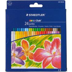 Пастель масляная Noris Club Jumbo, 24 цвета Staedtler