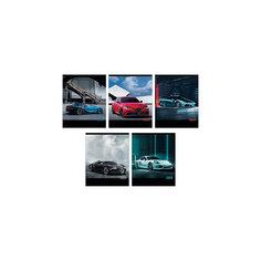 """Комплект тетрадей """"Тест-драйв. Авто"""" (10 шт), 48 листов, Канц-Эксмо"""