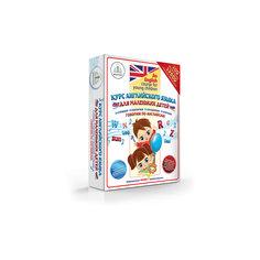 """Комплект из 4 книг """"Курс английского языка для маленьких детей"""", Знаток"""