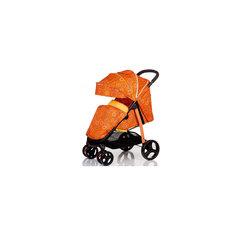 Прогулочная коляска Racy круги, Baby Hit, оранжевый