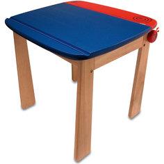 Стол с контейнером для ручек деревянный, Im Toy, голубой
