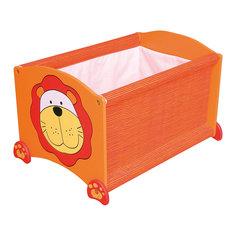 Ящик для хранения Тигр, Im Toy, оранжевый