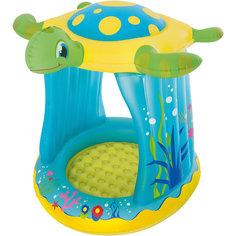 Надувной бассейн с навесом от солнца Черепашка, Bestway