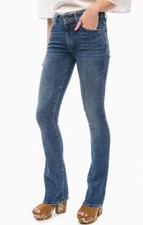 Расклешенные джинсы с заломами Fornarina