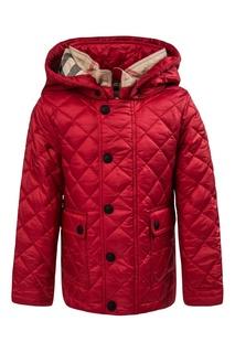 Стеганая куртка Burberry Children