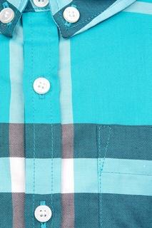 Хлопковая рубашка Burberry Children