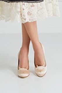 Атласные туфли Kitty Charlotte Olympia