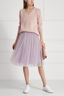 Шерстяной пуловер T Skirt