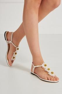 Кожаные сандалии Posey Charlotte Olympia