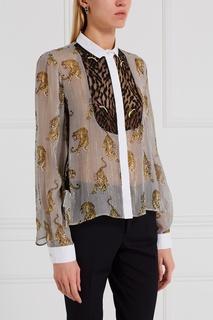 Шелковая блузка Giamba