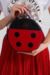 Кожаная сумка Lucky Atkinson Charlotte Olympia