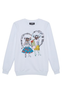 Хлопковый свитшот Lemurs In Love КАТЯ ДОБРЯКОВА