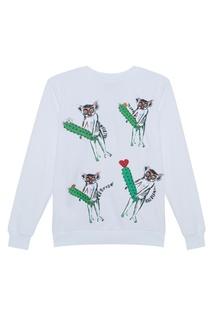 Хлопковый свитшот Four Lemurs КАТЯ ДОБРЯКОВА