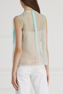Шелковая блузка Delpozo