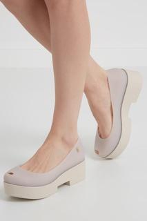 Однотонные туфли Melissa