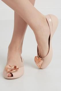 Однотонные балетки Melissa x Vivienne Westwood Anglomania