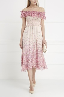 Шелковое платье Giamba