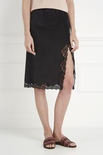 Шелковая юбка Alexander Wang