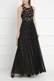Платье с пайетками Marchesa Notte