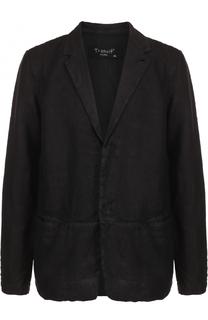 Льняной однобортный пиджак Transit