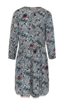 Мини-платье с цветочным принтом и укороченным рукавом Zadig&Voltaire Zadig&Voltaire