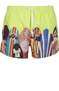 Плавки-шорты с принтом Dsquared2