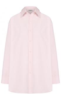 Хлопковая блуза свободного кроя Balenciaga