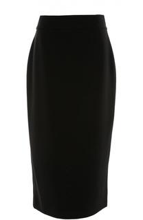 Юбка-карандаш с фактурной отделкой Armani Collezioni