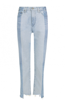 Укороченные джинсы с завышенной талией Ag
