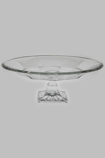 Тарелка для фруктов на ножке Crystalite Bohemia