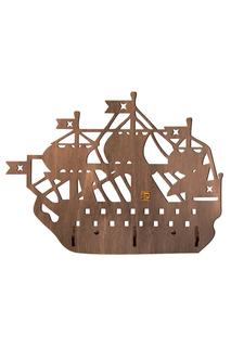 """Вешалка """"Пиратский корабль"""" СТЕНАГРАММА"""