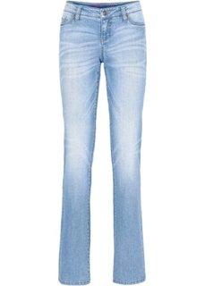 Джинсы Straight, cредний рост (N) (голубой выбеленный) Bonprix
