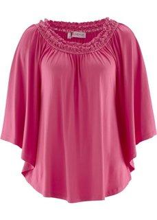 Трикотажная туника дизайна Maite Kelly (ярко-розовый) Bonprix
