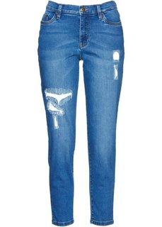 Джинсы длины 7/8 дизайна Maite Kelly (голубой) Bonprix