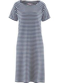 Платье дизайна Maite Kelly (темно-синий/белый в полоску) Bonprix