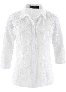 Блузка (белый) Bonprix