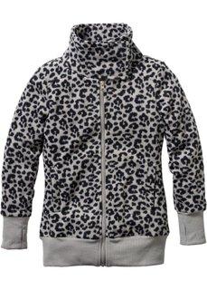 Куртка (леопардовый/светло-серый меланж) Bonprix