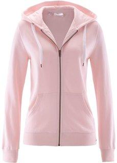 Трикотажная куртка (жемчужно-розовый) Bonprix