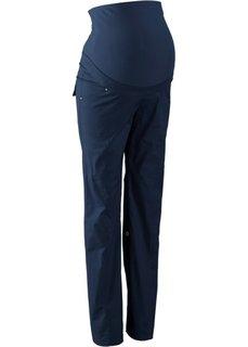 Для будущих мам: брюки с отворотами (темно-синий) Bonprix