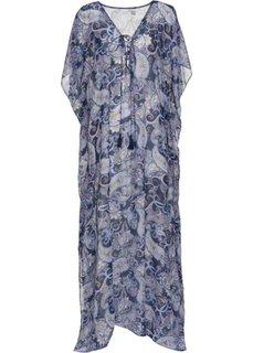 Пляжное платье (синий/лиловый) Bonprix