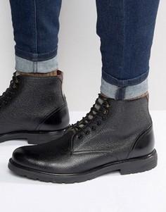 Ботинки на шнуровке Ted Baker Karusl - Черный