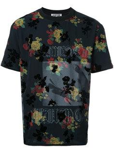 футболка с цветочным принтом McQ Alexander McQueen