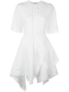 платье с асимметричным подолом J.W.Anderson